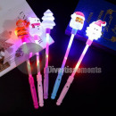luminous baton with Christmas motifs MIX 35cm