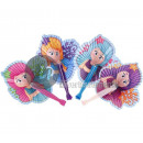 wholesale Costume Fashion: lot of 1200 MIX 25cm mermaid fans