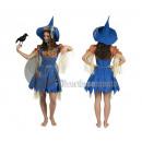 costume spaventapasseri femmina 3 pezzi taglia S /
