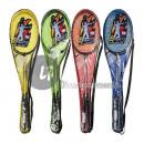 Großhandel Bälle & Schläger: Badminton Set 2 Schläger MIX