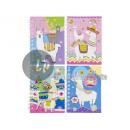 juego de 480 cuadernos de alpaca MIX 10.5x8cm