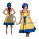 Großhandel Fashion & Accessoires: Kleid POP ART Frau Größe L