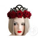 Großhandel Beads & Charms:Tiara Tiara Rote Rosen