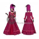 BAROQUE Beauty Fuchsia Kleid Größe XL