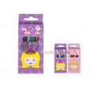 mayorista Material escolar: juego de 6 lápices de colores Princess 8.5cm