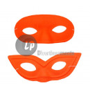 fluorescent neon wolf mask ORANGE MIX
