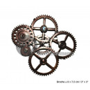 wholesale Accessories & Spare Parts: brooch metal steampunk patterns gears 8x7cm