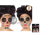 wholesale Piercing / Tattoo: card 2 tattoos day of the dead