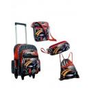 groothandel Koffers & trolleys: 4 stuks. Kids Reis  set voor kleine mannen