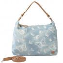 Großhandel Handtaschen: Hobo Schmetterling Design in Jeans blau