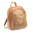 Großhandel Handtaschen: Kleiner Rucksack Backpack Tasche Patchwork