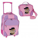 wholesale Suitcases & Trolleys: Kids Trolley Set for Kids