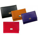 wholesale Wallets: Ladies wallet coin pocket on the back with logo