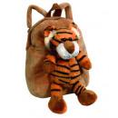 Kids Asortyment  plecak pluszowy tygrys, lew, lew