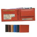 grossiste Bagages et articles de voyage: Portefeuille avec barre intérieure + zip 6 couleur