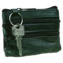 Schlüsseletui aus Soft-Nappaleder von Stefano