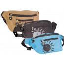 Bumbag handbag bag made of crinkle nylon