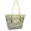 Bernardo Bossi bag, beige / gold