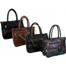 wholesale Bags & Travel accessories: Shopping bag in patchwork leather