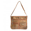 Leather lady handbag purse bag