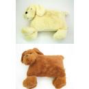 Plush dog pillow Lupo
