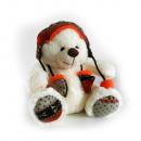 Plush bear sitting 30 cm