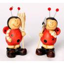 Ladybug standing