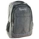 Nylon backpack in 3 colors