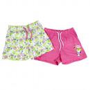 Großhandel Shorts: Snoopy Jersey Shorts 2er, Gr. 98/104