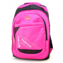 Nylon backpack in 4 colors