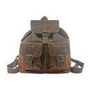 wholesale Backpacks: Real leather backpack in 2 colors