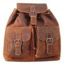 Großhandel Rucksäcke: Hochwertiger Rucksack aus Echt Leder