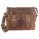 wholesale Handbags: Real leather shoulder bag in 2 colors