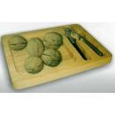 grossiste Aides de cuisine: Planche de bois avec casse-noix