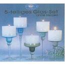 wholesale Drinking Glasses:5 pcs. Glass Set