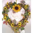 groothandel Kunstbloemen:Zonnebloem Krans