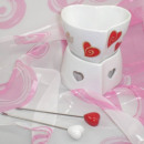 wholesale Kitchen Electrical Appliances:Chocolate Fondue - Heart