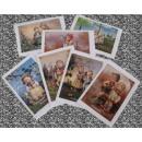grossiste Cartes de vœux: Cartes doubles  avec enveloppes MJHummel