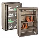 Großhandel Kleinmöbel:-Textil  Schuhschrank mit 4 Einlegeböden