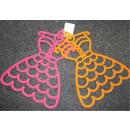 Großhandel Tücher & Schals: 2er Set Schalorganizer in Kleidform
