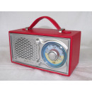 Großhandel Consumer Electronics:Nostalgie Radio, rot
