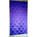 grossiste Mercerie et couture: Tapis de damassé Plume 80x300cm