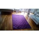 grossiste Maison et cuisine: Damassé tapis, Violet, 120x180cm