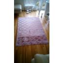 grossiste Maison et cuisine: Damassé tapis, Rose, 200x290cm