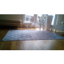 grossiste Maison et cuisine: Tapis de damassé gris 200x290cm