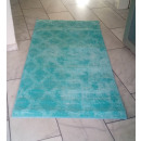 grossiste Mercerie et couture: Tapis turquoise 80x150 cm 1,2m²
