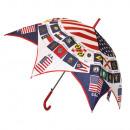 Regenschirm Schirm  Stockschirn USA America