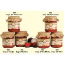 Großhandel Nahrungs- und Genussmittel: Tomatensauce m.  Basilikum sugo al Basilco