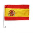 grossiste Cadeaux et papeterie: Drapeau de voiture 30 x 45 Espagne