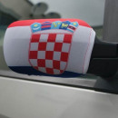Car Mirror flag Croatia Set of 2